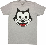 Felix the Cat Head T Shirt Sheer
