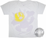 Felix the Cat Yellow Face Juvenile T-Shirt