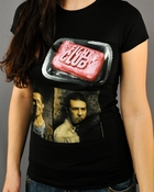 Fight Club Photo Baby Tee