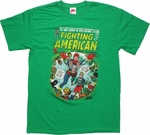 Fighting American #2 Cover T Shirt