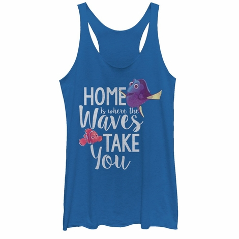 Finding Dory Home Tank Top Juniors T-Shirt