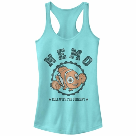 Finding Dory Nemo Current Tank Top Juniors T-Shirt