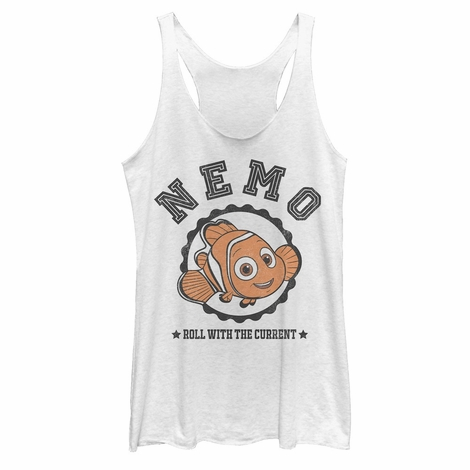 Finding Dory Nemo Roll Tank Top Juniors T-Shirt