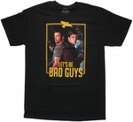 Firefly Bad Guys Framed Duo T Shirt