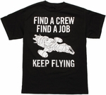 Firefly Crew Job Keep Flying T Shirt