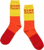 Firefly Stay Shiny Tricolor Crew Socks