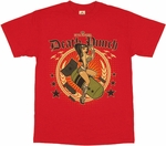 Five Finger Death Punch Bomb Girl T Shirt