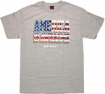 Flag America is Awesome T Shirt