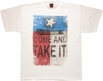 Flag Texas Come Take It T Shirt