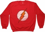 Flash Faded Logo Sweatshirt