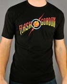 Flash Gordon Logo T Shirt Sheer