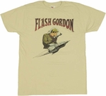 Flash Gordon Rocket T Shirt Sheer