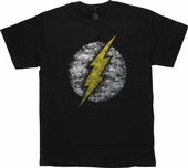 Flash Logo Sponged Stencil T Shirt
