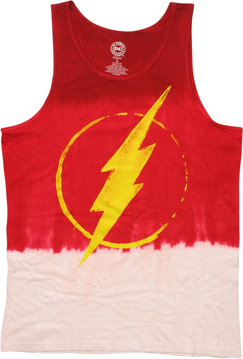 Flash Painted Logo Gradient Tank Top