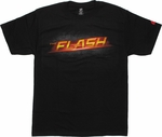 Flash TV Name Logo T Shirt