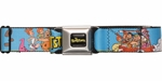 Flintstones Character Group Families Seatbelt Mesh Belt