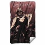 Forbidden Planet Poster Fleece Blanket