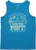 Ford Mustang Ride Pony Tank Top