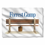 Forrest Gump Bench Pillow Case