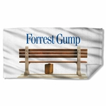 Forrest Gump Bench Towel