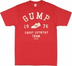 Forrest Gump Cross Country T Shirt Sheer
