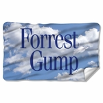 Forrest Gump Feather Fleece Blanket