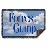 Forrest Gump Feather Throw Blanket