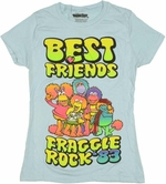 Fraggle Rock Friends Baby Tee
