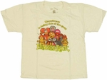 Fraggle Rock Gang Juvenile T Shirt
