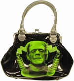 Frankenstein Face Purse