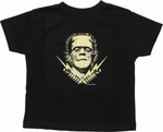 Frankenstein Transformers Toddler T Shirt