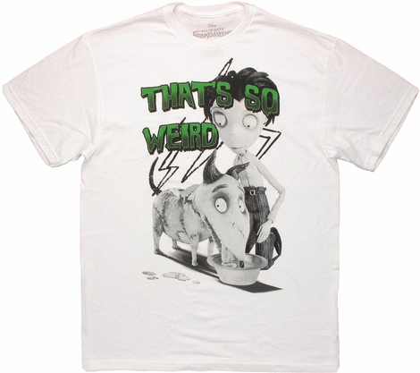 Frankenweenie So Weird T Shirt