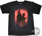 Freddy vs Jason Bleeding Skulls T-Shirt