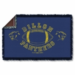 Friday Night Lights Dillon Panthers Throw Blanket