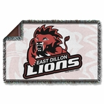 Friday Night Lights Lions Throw Blanket
