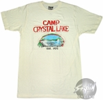 Friday the 13th Crystal Lake T-Shirt Sheer