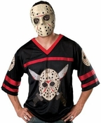 Friday the 13th Jason Jersey Mask Adult Costume