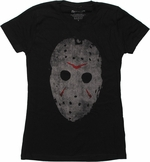 Friday the 13th Jason Mask Baby Tee