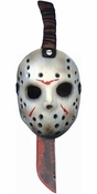 Friday the 13th Jason Mask Machete Costume Accessory Kit