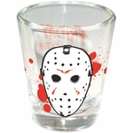 Friday the 13th Jason Mask Shot Glass
