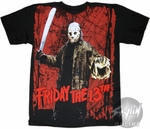 Friday the 13th Jason Slice T-Shirt