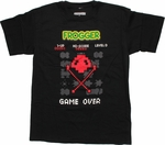 Frogger Game Over T-Shirt