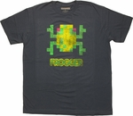 Frogger Pixel T-Shirt Sheer
