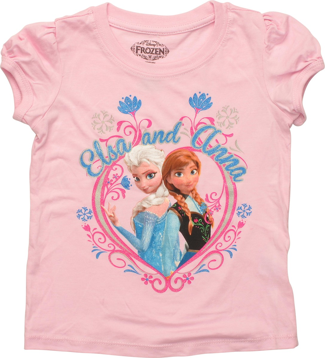 This Frozen shirt features an image of Olaf, the clumsy snowman who was magically brought to life by Elsa in the hugely successful Disney film. Olaf is surrounded by sparkling snowflakes. This is a girls shirt, the perfect size for those little ones who dream of one day being Anna or the Snow Queen Elsa.
