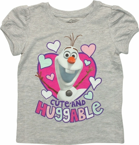 Frozen Olaf Huggable Toddler T Shirt