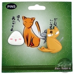 Fruits Basket Onigiri Kyo Pin Set