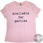 Funny Parties Baby Tee