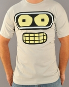 Futurama Bender Face T Shirt