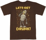Futurama Drunk T Shirt