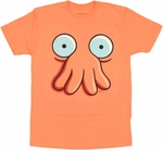 Futurama Zoidberg Face T Shirt